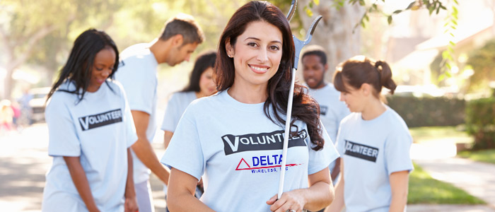 Delta Wireless Community Outreach