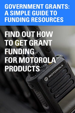 Motorola Two-way Radio Government Grants California